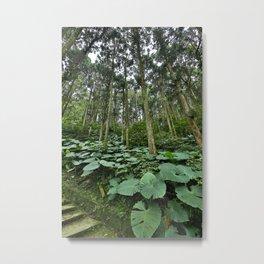 Forest Blanket Metal Print