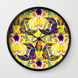 Land of Aquarius Wall Clock
