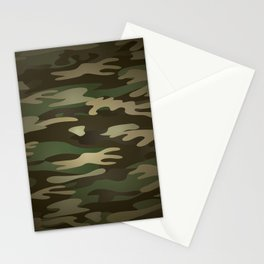Military Camo Stationery Cards