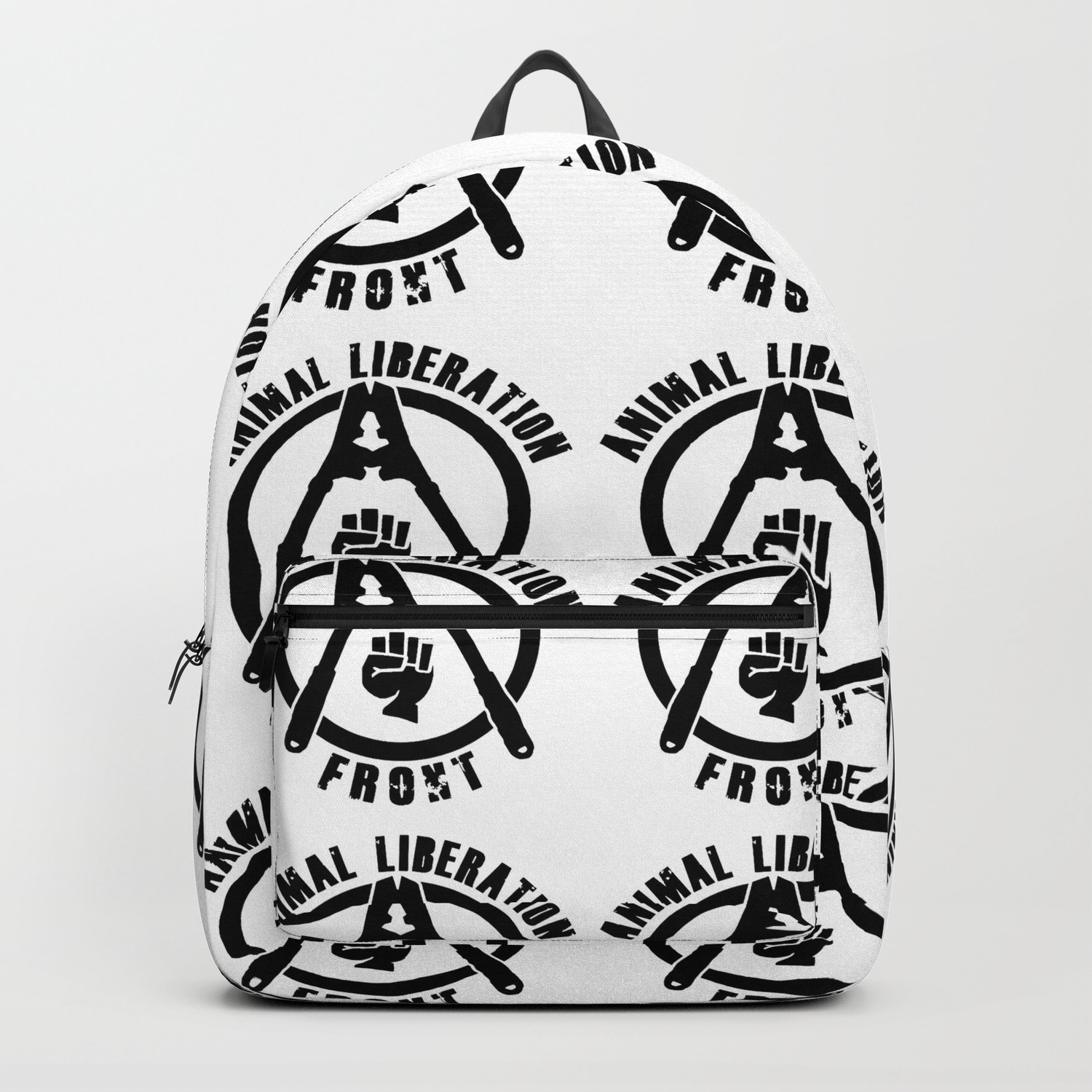 Animal Liberation Front Backpack By Edithwsmith