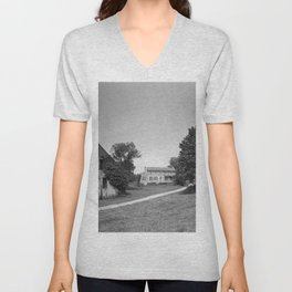 Mill Tract Farm, PA 1958 Unisex V-Neck