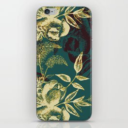 Illustrations of Florals iPhone Skin