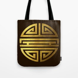 Four blessings Gold Tote Bag