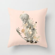 Stranger Danger I [sans type] Throw Pillow