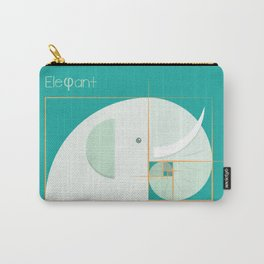 Golden ratio elephant Carry-All Pouch