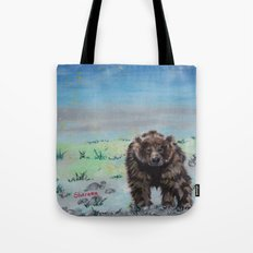 Barely awake Tote Bag