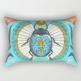 Egyptian Scarab Rectangular Pillow