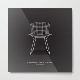 Bertoia Side Chair - Harry Bertoia Metal Print