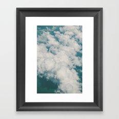 Clouds 2 Framed Art Print