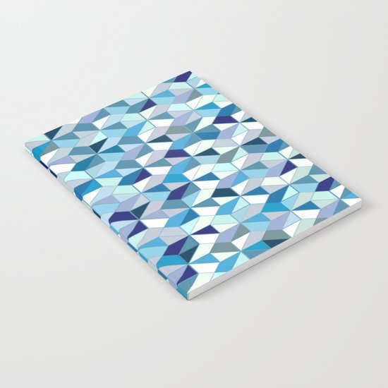 Geometrica (blue) Notebook