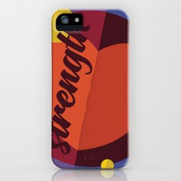 Heart of Strength iPhone Case