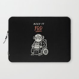 keep it 100 Laptop Sleeve