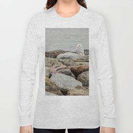 Snowy Owl by Teresa Thompson Long Sleeve T-shirt