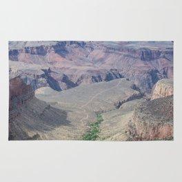 Grand Canyon path Rug