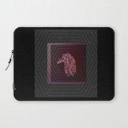 Tribal Raven: Red Laptop Sleeve