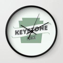 Keystone Place Wall Clock