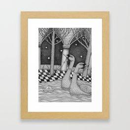 The Star Flowers (2) Framed Art Print
