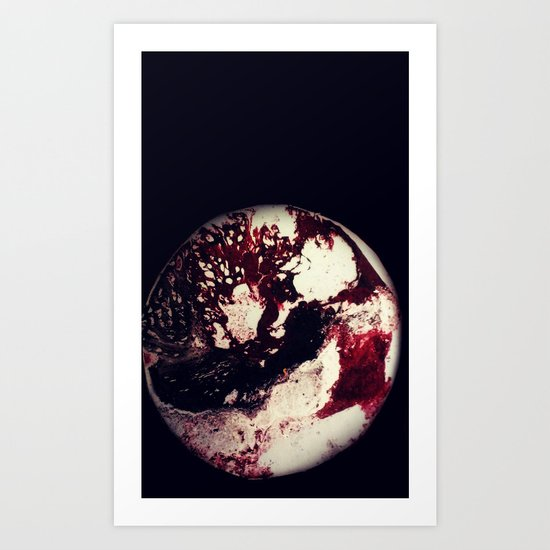 Blood Lines Art Print