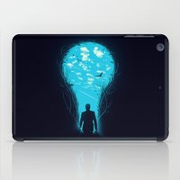 carpe iPad Cases featuring Bright Side by nicebleed