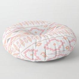 Pink Boho Tribal Aztec Floor Pillow