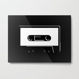 Tape Metal Print