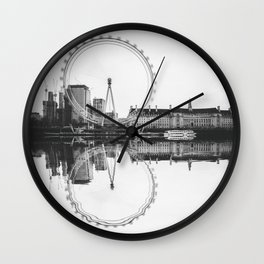 Amazing London Eye Wall Clock