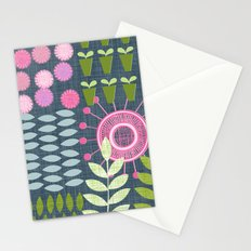 Golden Thyme and Silver Mint Stationery Cards