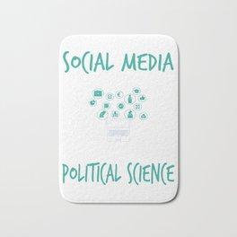 Social Media Can Wait Political Science Bath Mat