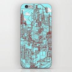 San Francisco! (Turquoise) iPhone & iPod Skin