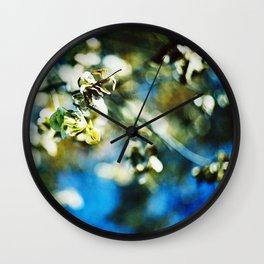 Swirl of Fall Wall Clock