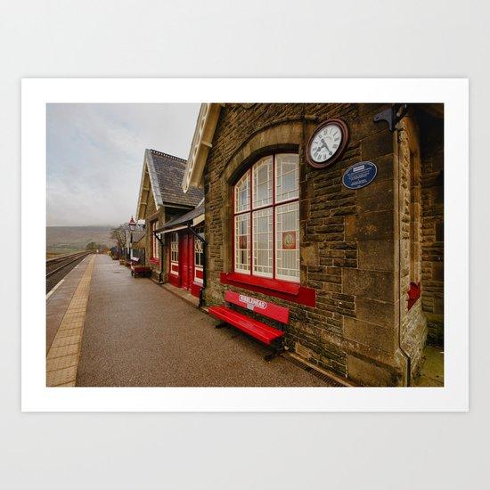 Ribblehead Station Art Print