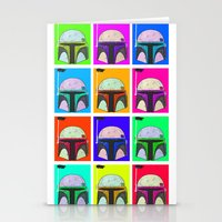 boba Stationery Cards featuring Boba-Hol by domm
