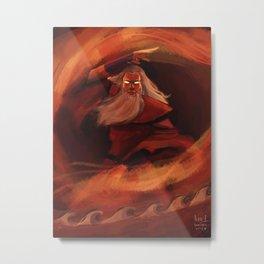 Avatar Roku Metal Print