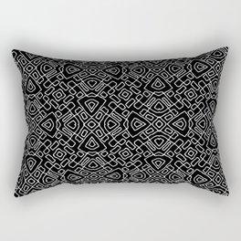 A cuadros Rectangular Pillow