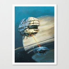 Saturn II Canvas Print