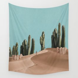 Is There Life on Earth I Wall Tapestry