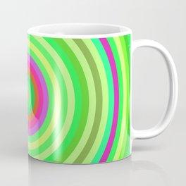 Retro Radial Coffee Mug