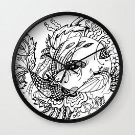 Somefin Fishy Wall Clock