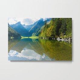 Seealpsee Lake Appenzell Alps Switzerland Metal Print