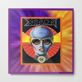 XEXON framed Metal Print