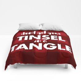 TANGLED TINSEL Comforters