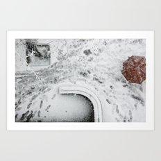 nieve Art Print