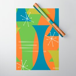 Mod Motion Wrapping Paper