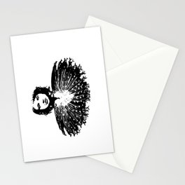 Lady Peacock Stationery Cards