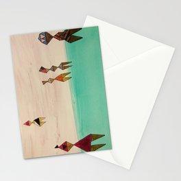 Grrrls Swim Stationery Cards