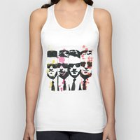 """tarantino Tank Tops featuring """"The Dogs"""", ink and watercolor. by DJayK"""