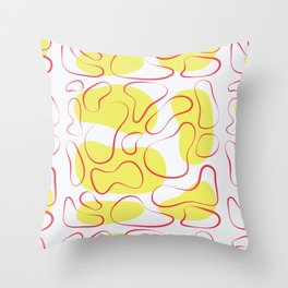Shaping up Throw Pillow