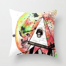 Sandman Throw Pillow