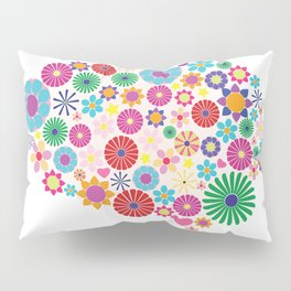 Flower brain Pillow Sham
