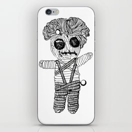 VooDoo Doll Illustration, Original (Inktober Day Four: Spell) iPhone Skin
